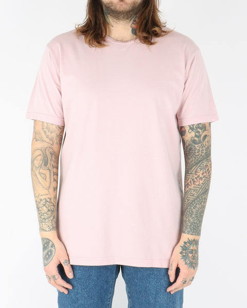 colorful standart_classic organic tee_faded pink_view_1_2