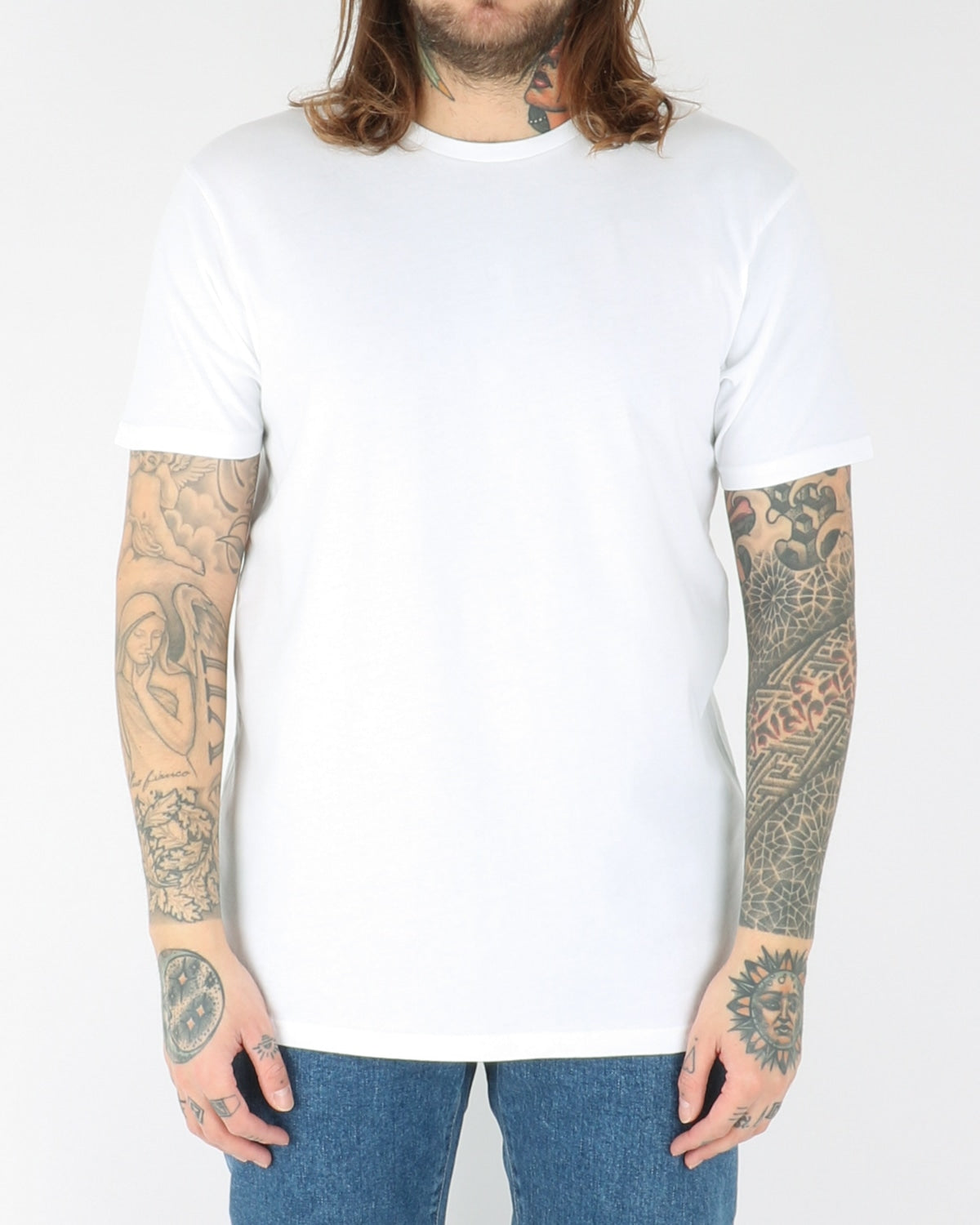 colorful standart_classic organic tee_optical white_view_1_2