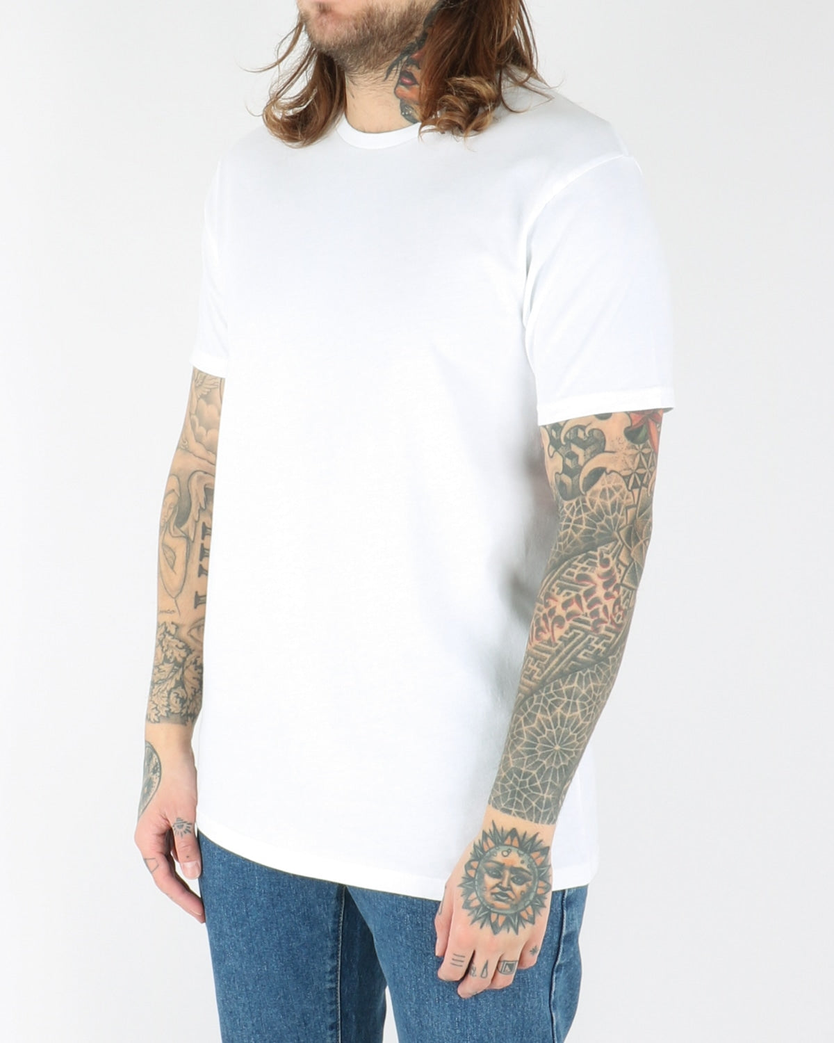 colorful standart_classic organic tee_optical white_view_2_2