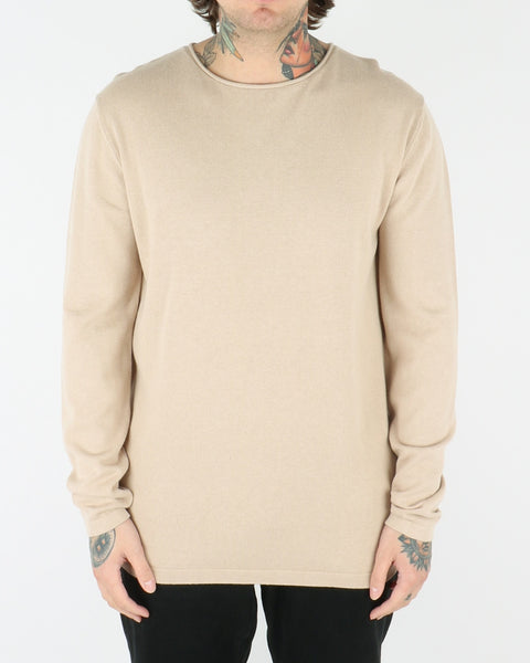 et al design_schleth_knit sweatshirt_sand_view_1_2