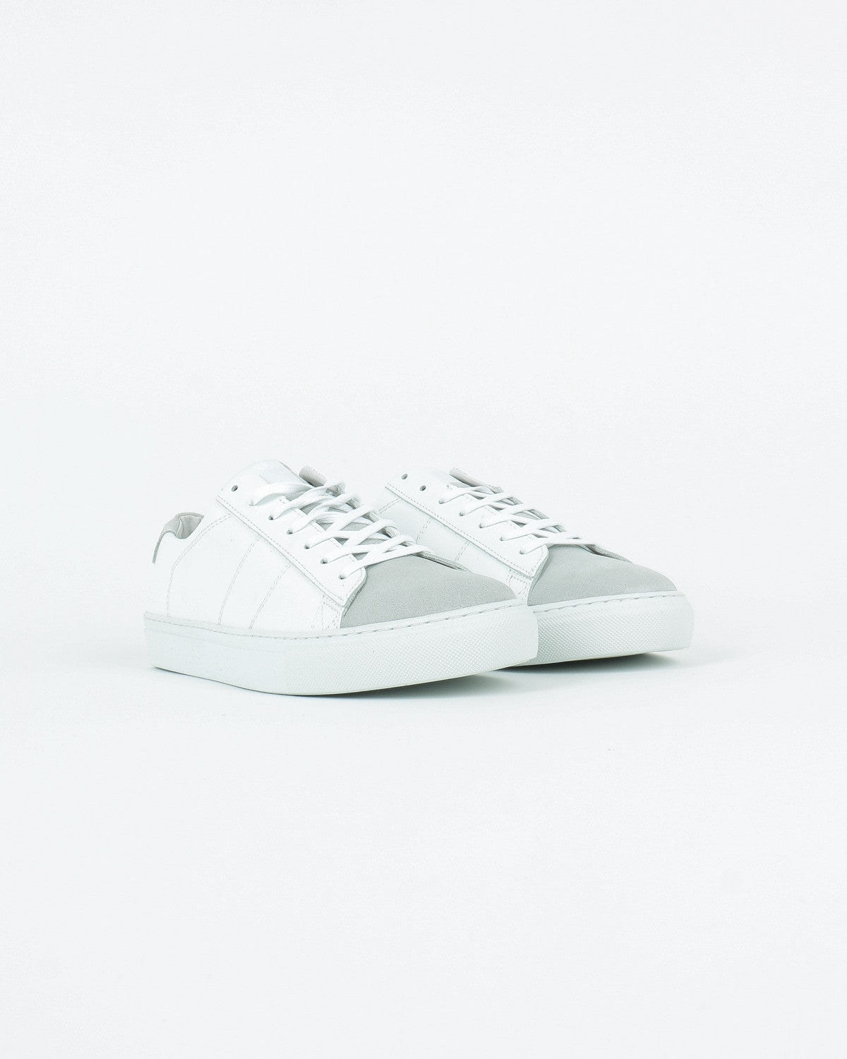 garment project_ace sneaker_white leather suede_view_2_4