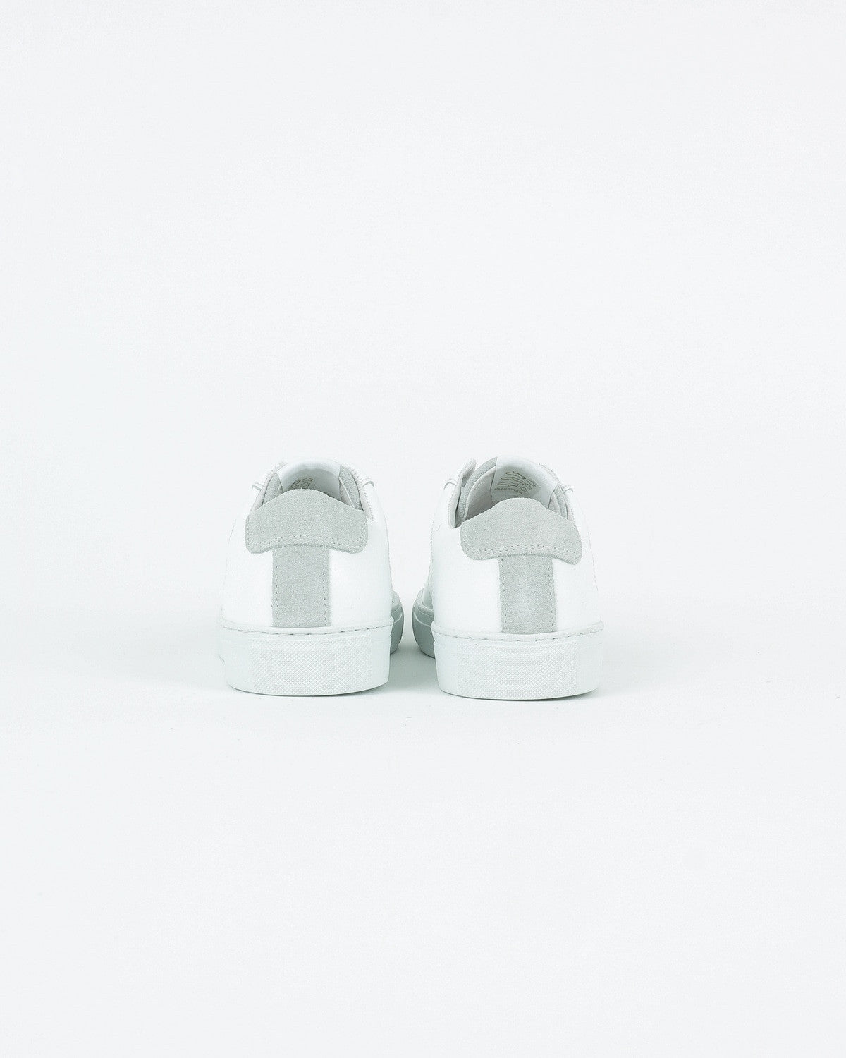 garment project_ace sneaker_white leather suede_view_3_4