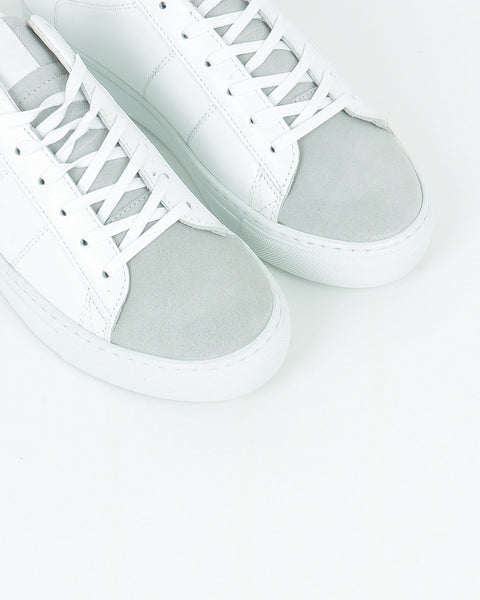 garment project_ace sneaker_white leather suede_view_4_4