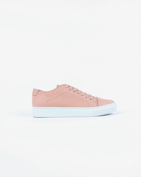 garment project_classic lace sneaker_nude_view_1_4