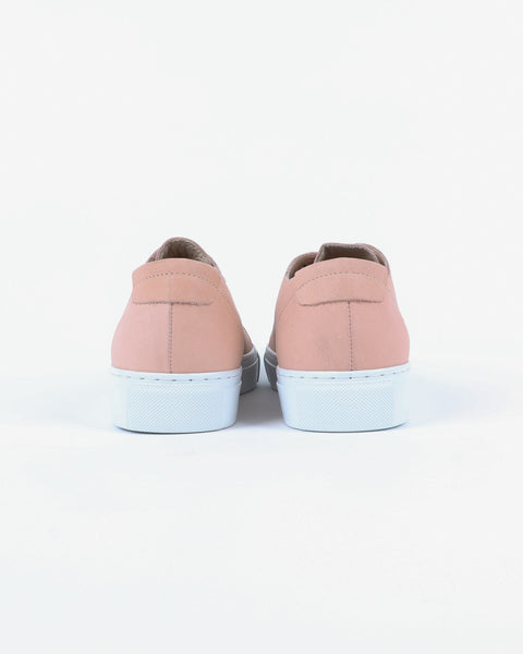 garment project_classic lace sneaker_nude_view_3_4