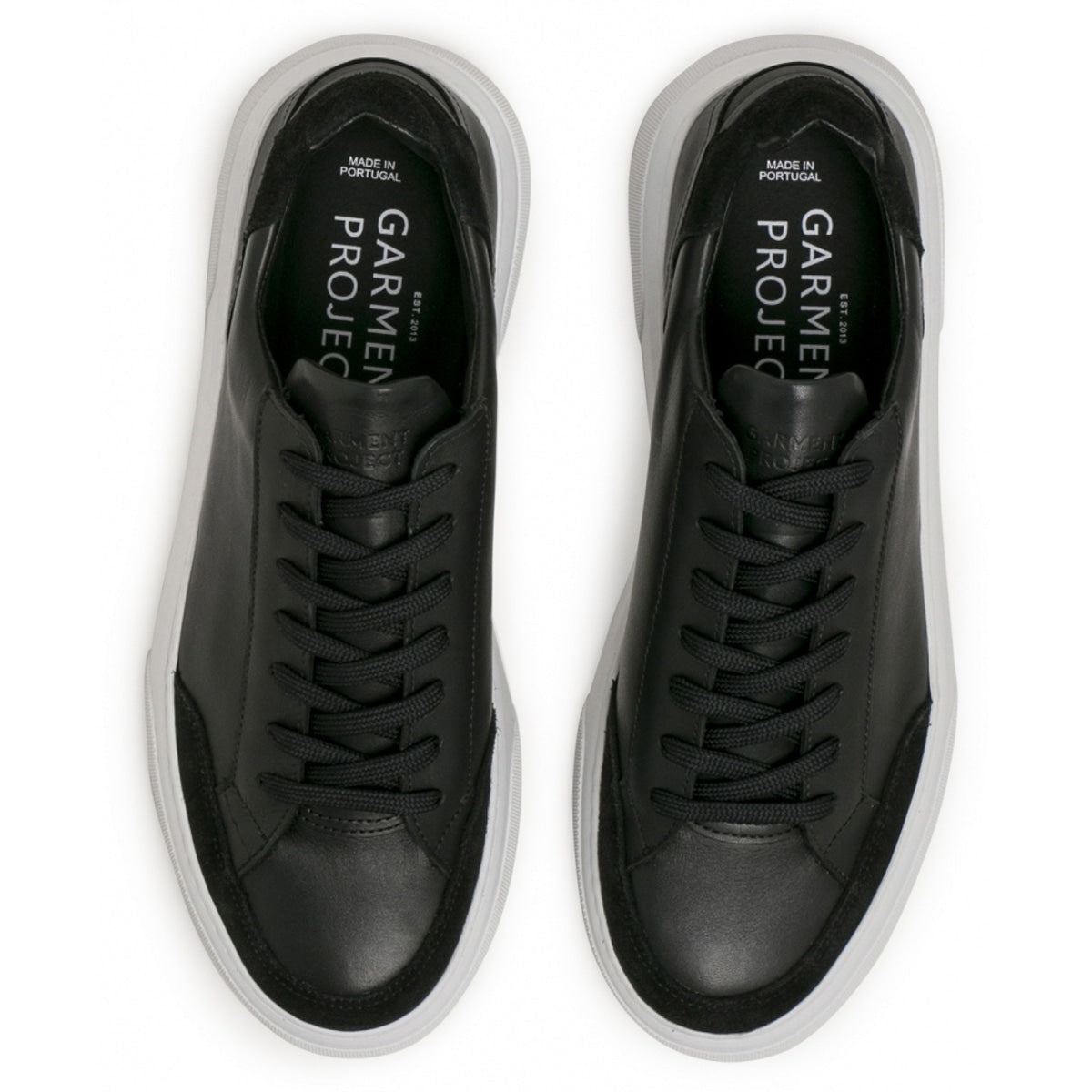 garment project_off court sneaker_black_4_5