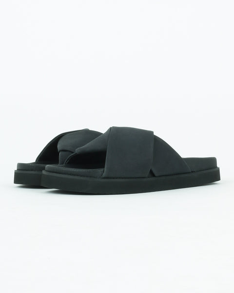 garment project_yodoa sandals_black nubuck_1_3