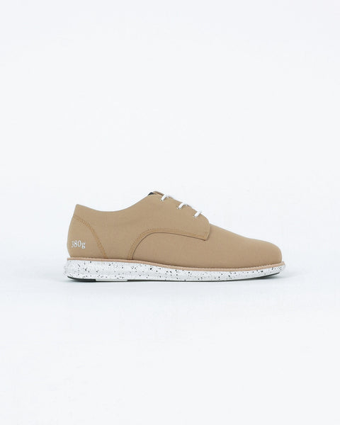 gram shoes_380g a derby sneaker_sand wool_view_1_3