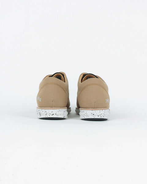 gram shoes_380g a derby sneaker_sand wool_view_3_3