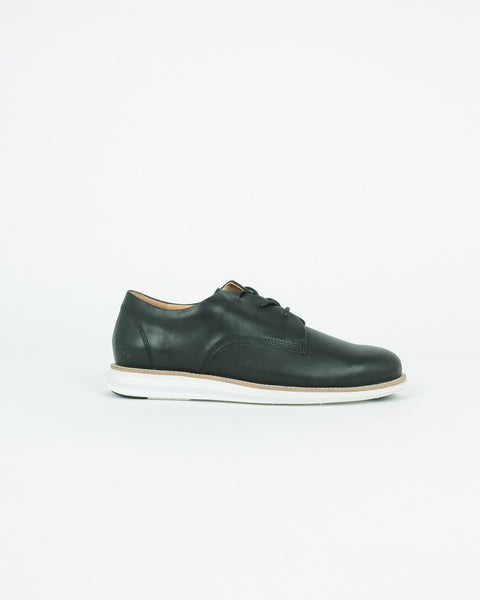gram shoes_380g a derby sneaker_black full grain leather_view_1_4