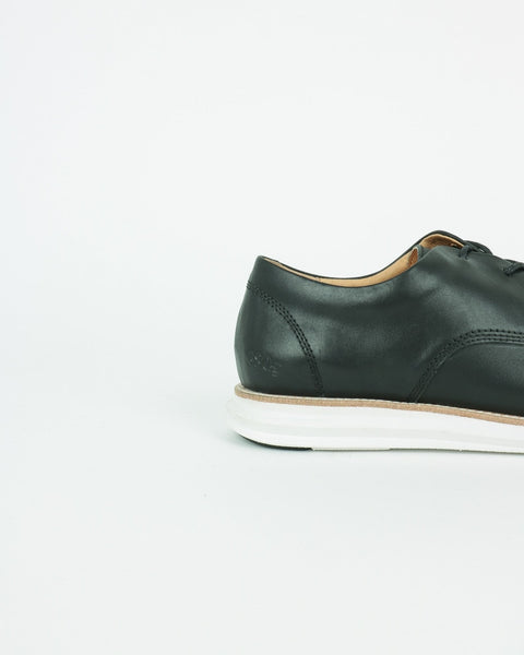 gram shoes_380g a derby sneaker_black full grain leather_view_4_4