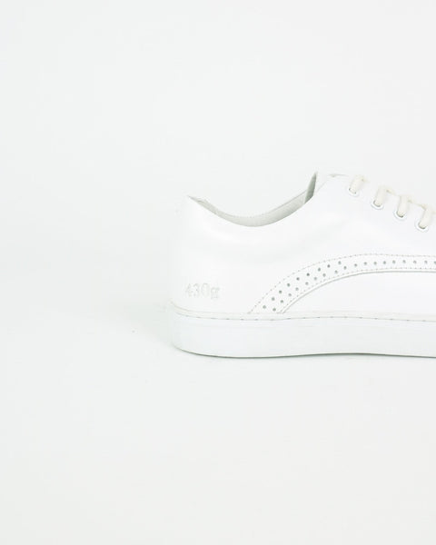 gram shoes_430g derby sneaker_white leather_view_4_4
