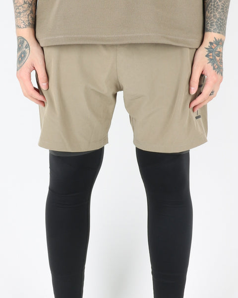 halo newline_endurance_shorts_2in1_light olive_view_1_3