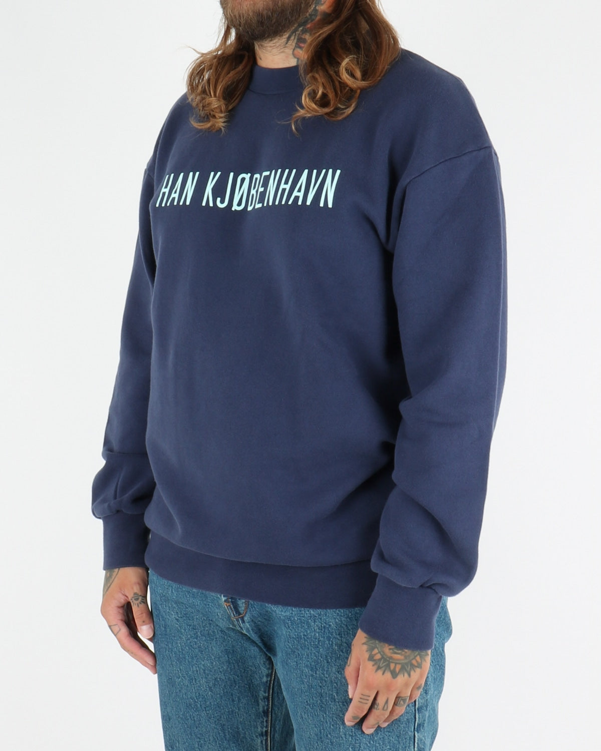 han kjobenhavn_casual crew neck_navy_view_3_3