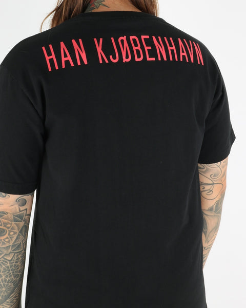 han kjobenhavn_casual tee_black back print_view_4_4