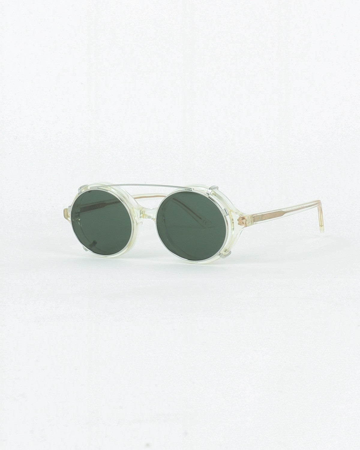 han kjobenhavn_doc clip on_sunglasses_champagne clear_view_1_4