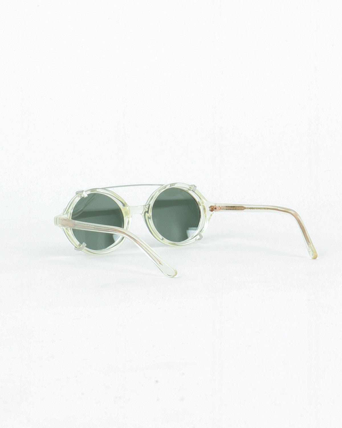 han kjobenhavn_doc clip on_sunglasses_champagne clear_view_2_4