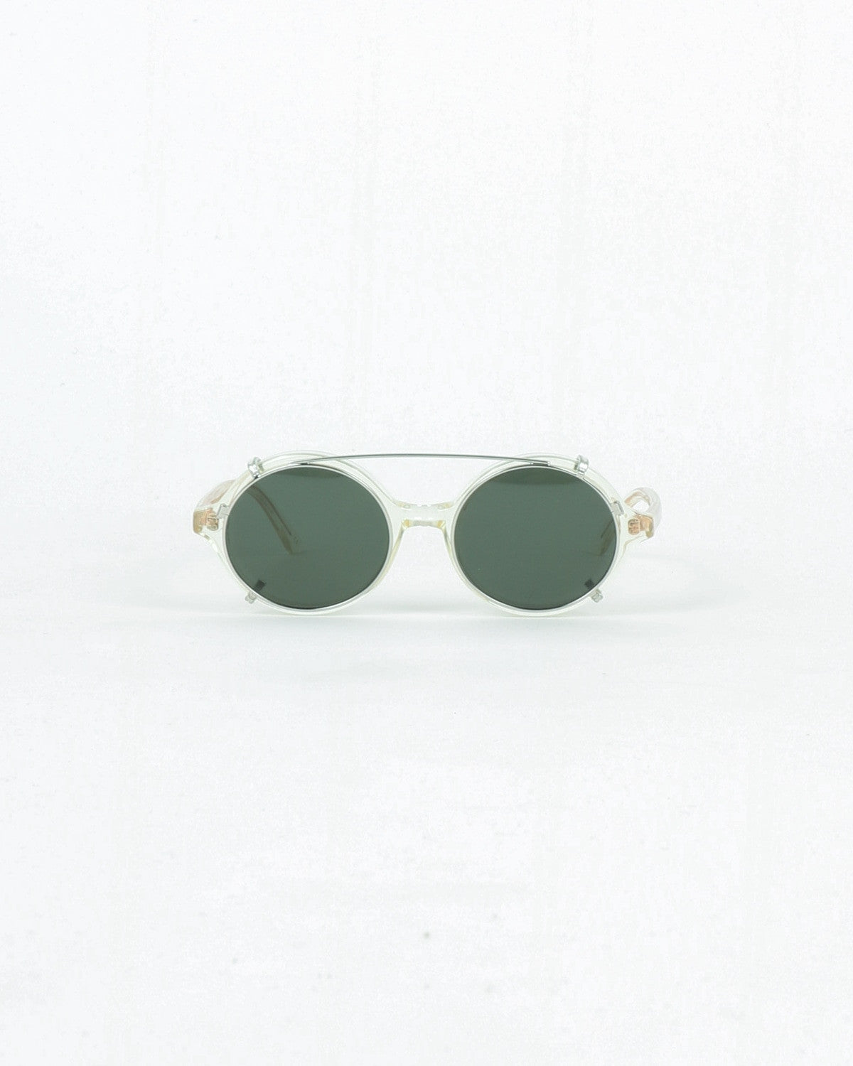 han kjobenhavn_doc clip on_sunglasses_champagne clear_view_4_4