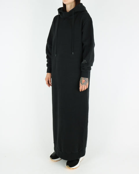 han kjobenhavn_hoodie dress_black_view_2_4