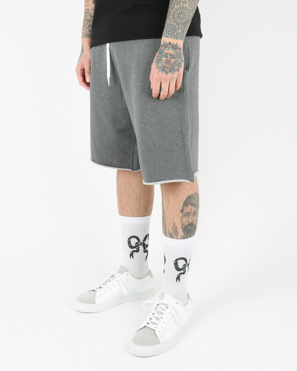 han kjobenhavn_sweat chino pants_grey_view_2_2