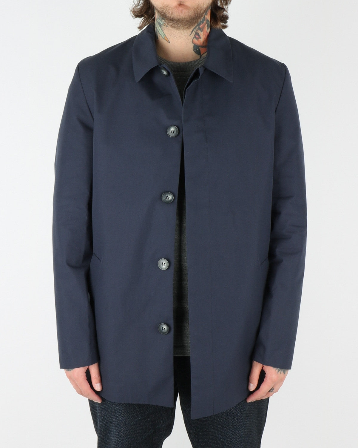 journal clothing_lost tech coat_navy_view_1_3