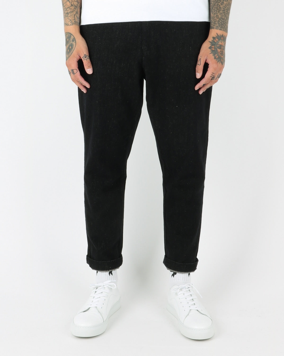 journal clothing_sea brushed pants_black_view_2_3