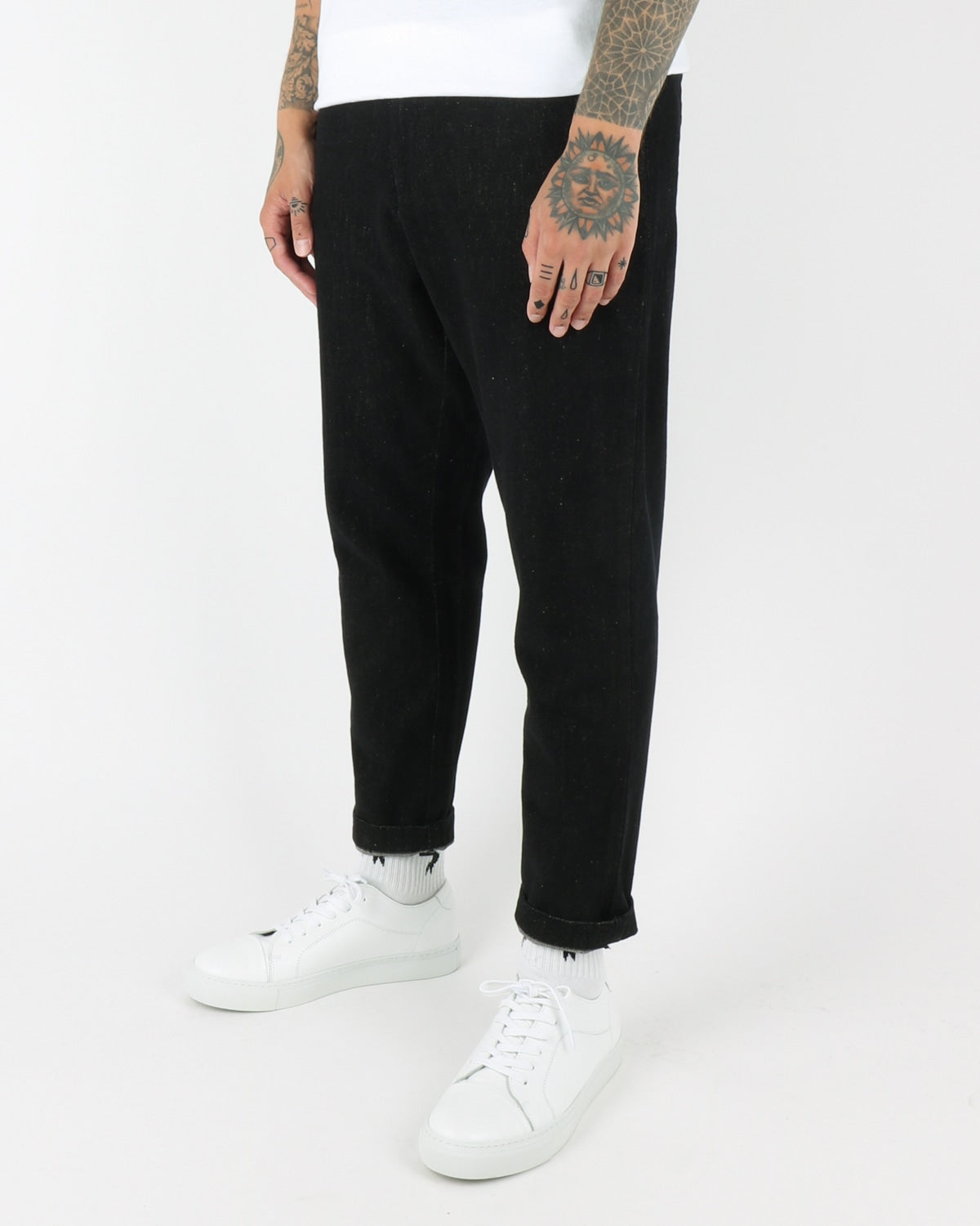 journal clothing_sea brushed pants_black_view_1_3