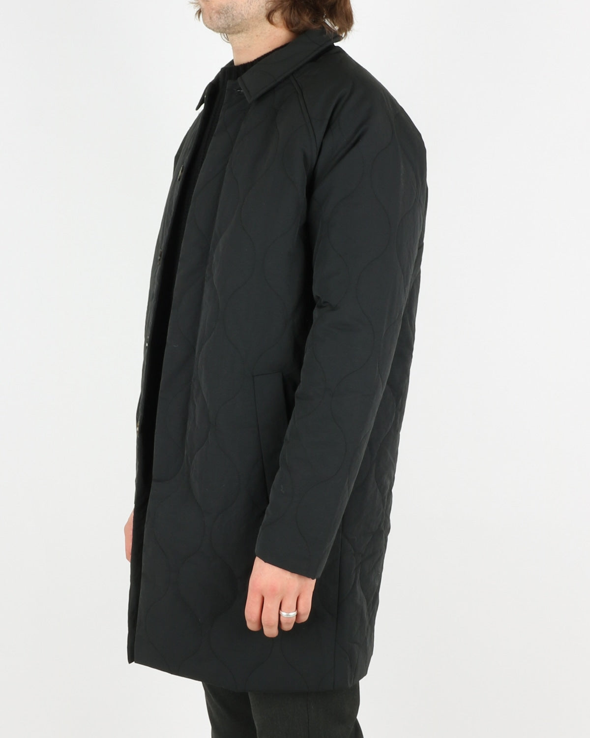 Atlas Coat, black