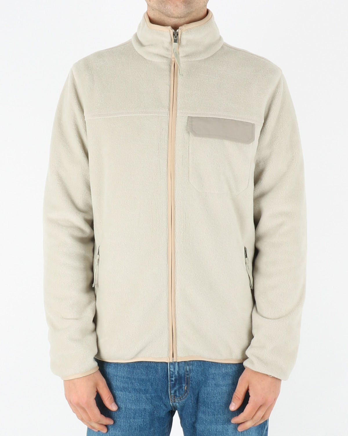 legends_kodiak fleece jacket_ecru_1_3