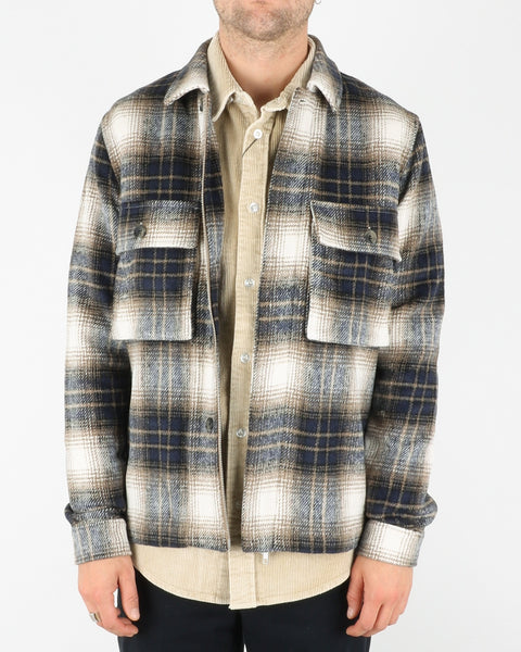 legends_monterey overshirt_beige blue check_1_3