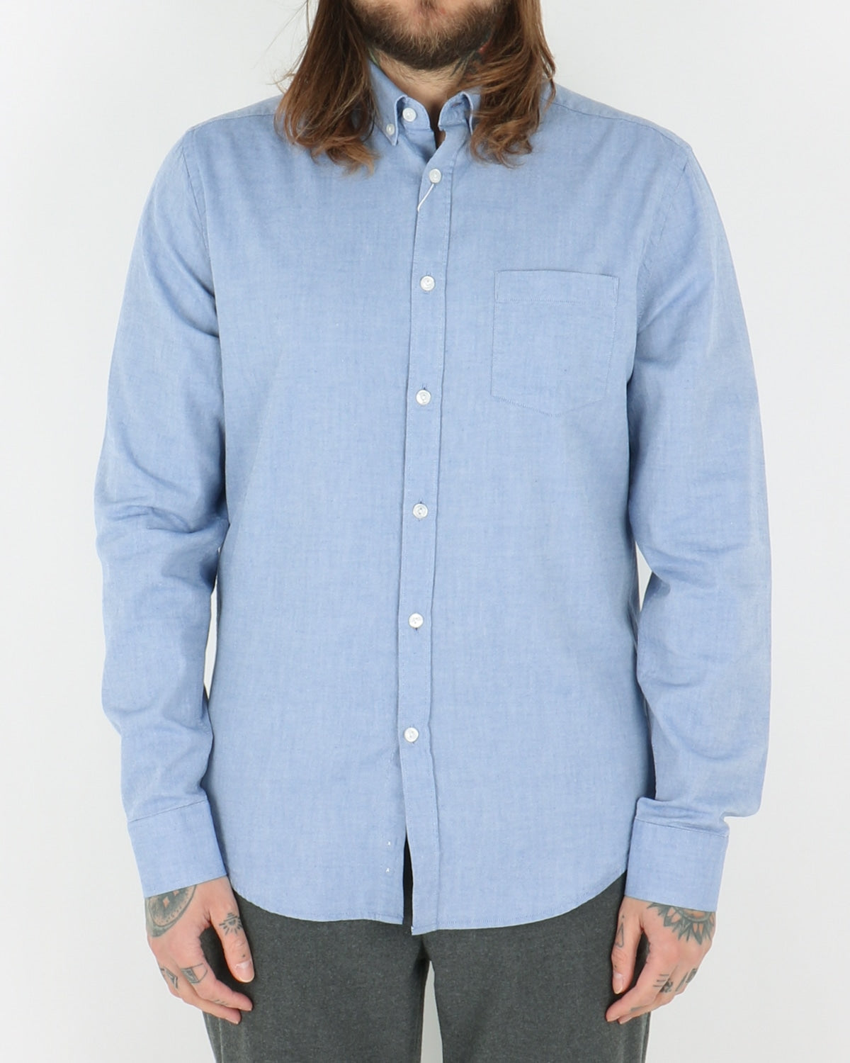 legends_ocean oxford shirt_light blue_view_1_2