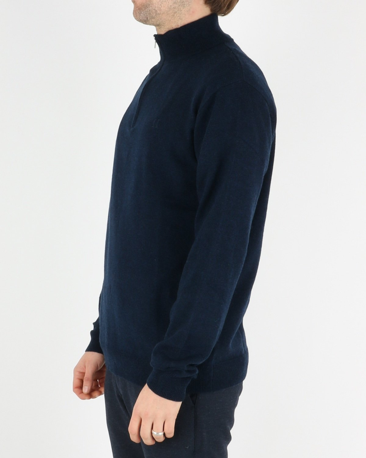 les deux_cashmerino zipper knit_dark navy_2_4