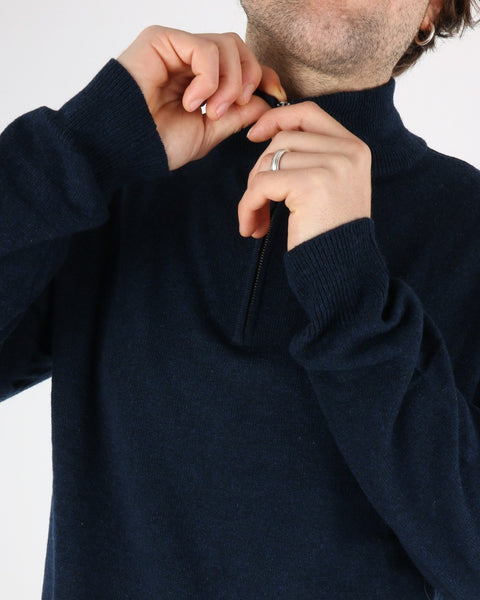 les deux_cashmerino zipper knit_dark navy_4_4