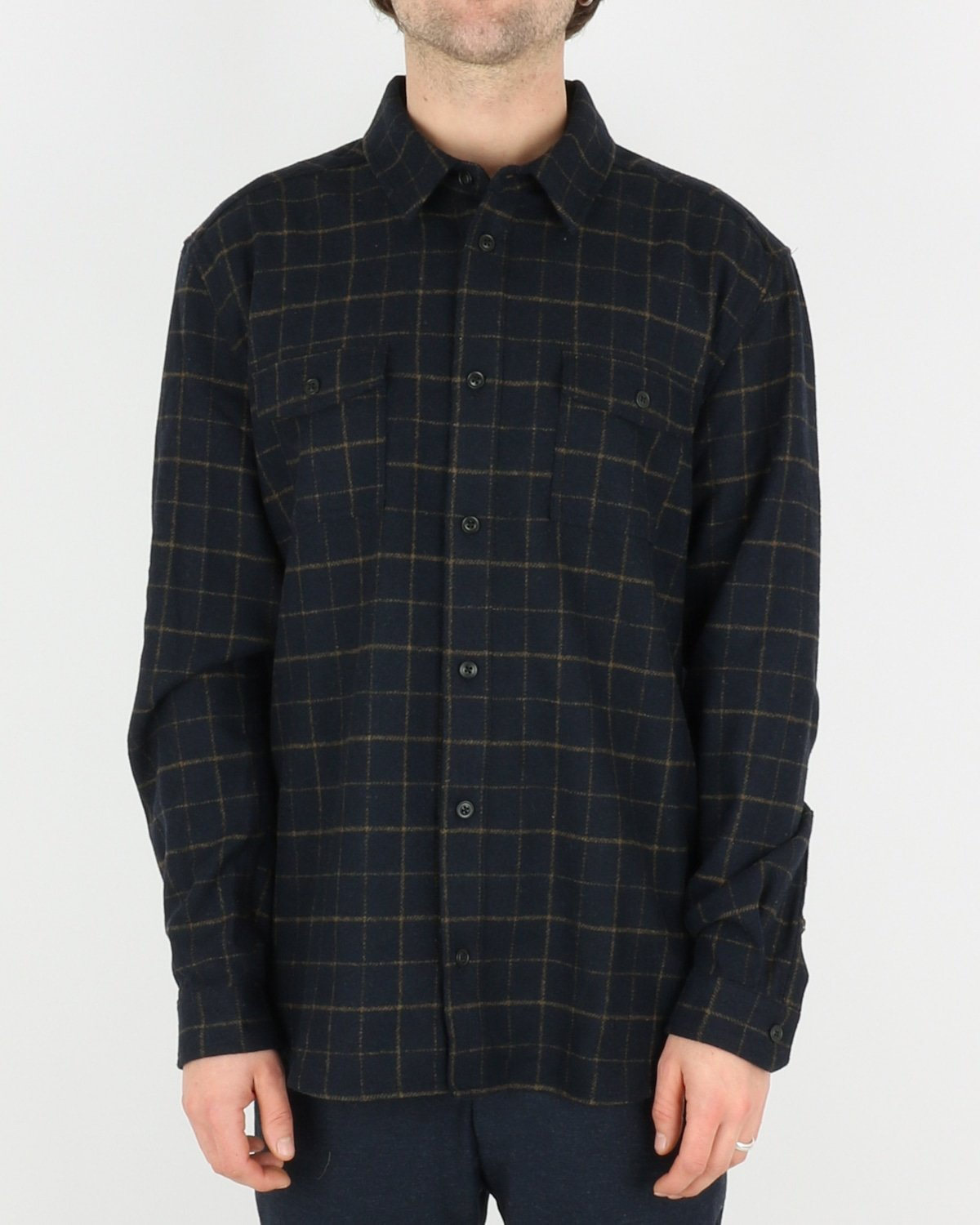 les deux_dines shirt jacket_dark navy_1_4