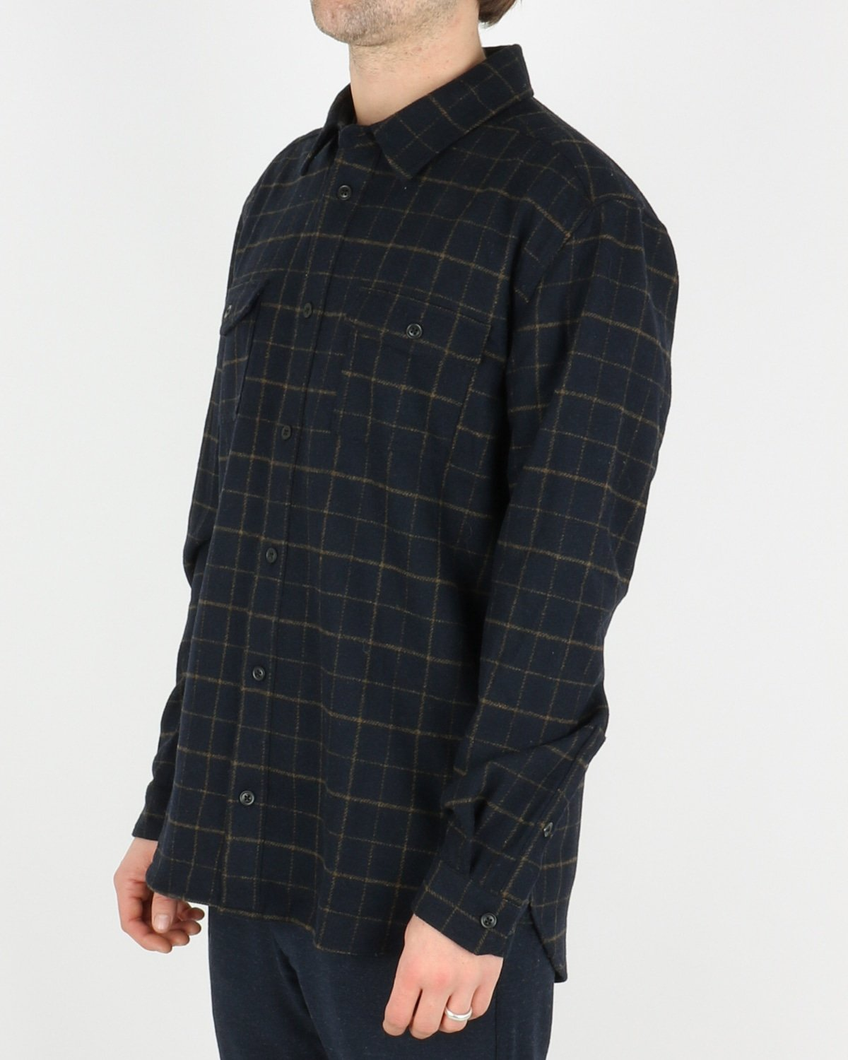 les deux_dines shirt jacket_dark navy_2_4