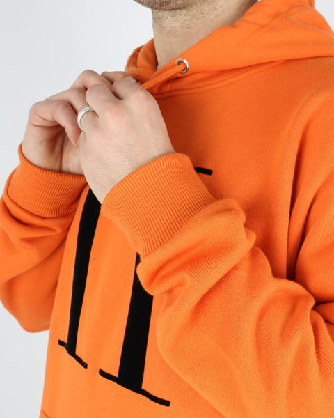 Encore Hoodie, orange black