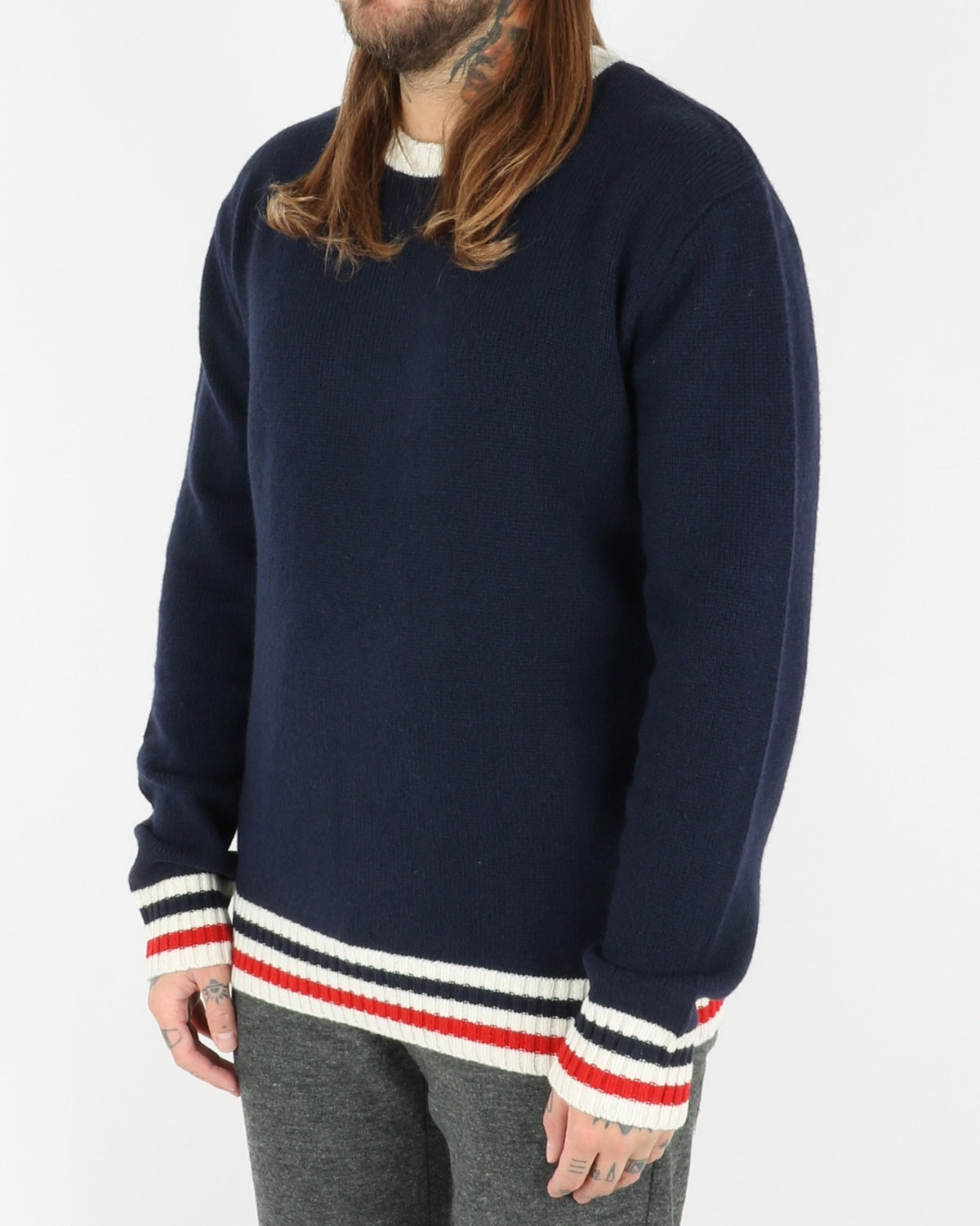 les deux_french lambswool jumper_dark navy_2_3