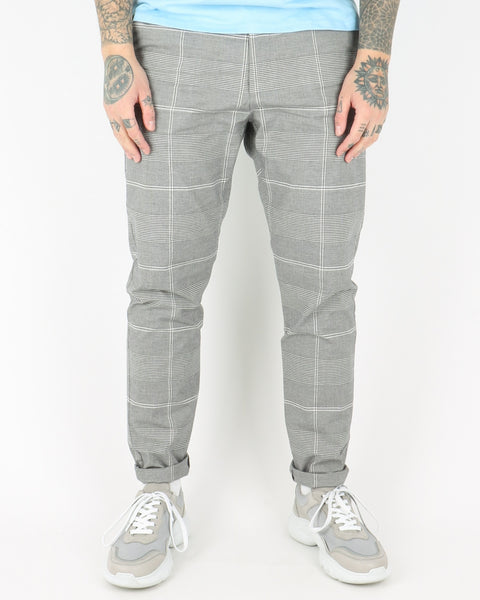 les deux_lugano suit pants_grey/black_view_1_3