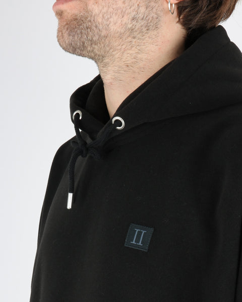 les deux_piece fleece hoodie_black_3_3