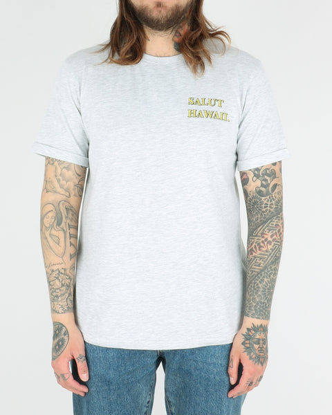 les deux_state of hawaii tee_snow melange_view_4_4
