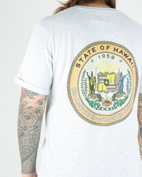 les deux_state of hawaii tee_snow melange_view_1_4