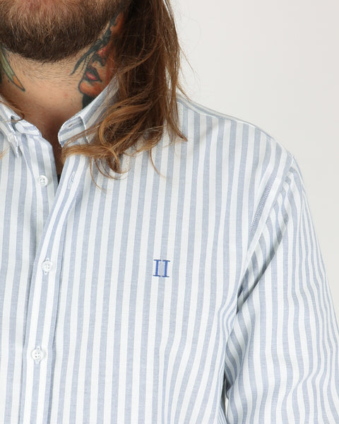 Les Deux Windsor Shirt, white navy