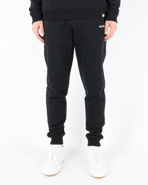 les deux_lens sweatpants_black white_1_3