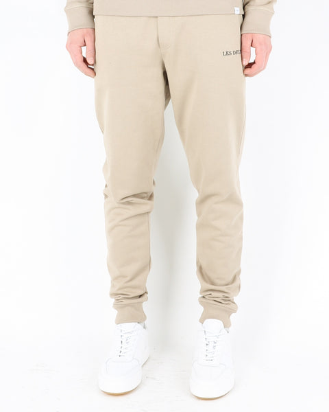 les deux_lens sweatpants_dark sand black_1_3