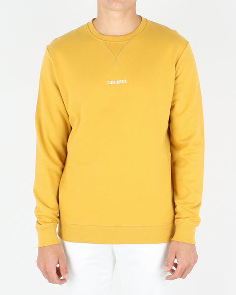 les deux_lens sweatshirt_yellow white_1_3