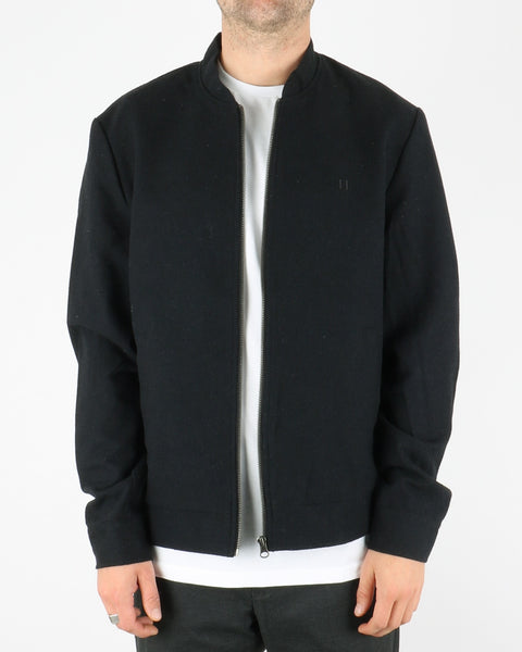 les deux_marshall wool bomber jacket_dark navy_1_3