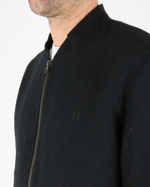 les deux_marshall wool bomber jacket_dark navy_3_3