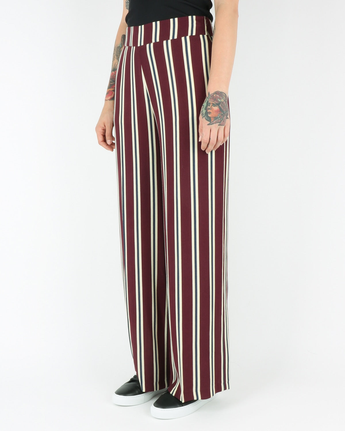 libertine libertine_blonde trousers_wine_view_2_2