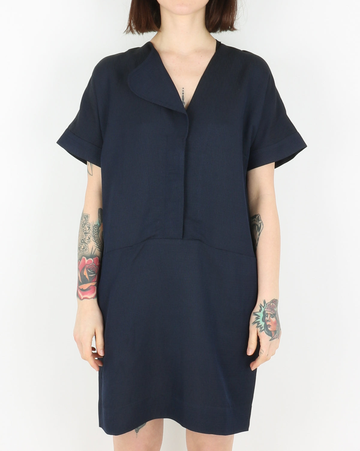 libertine libertine_deal dress_dark navy_view_1_3