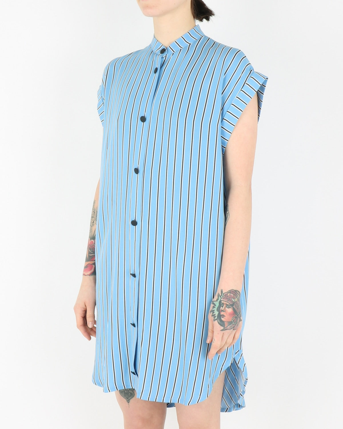 libertine libertine_exist dress_colonial blue stripe_view_2_3
